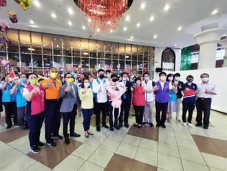 東奧桌球混雙銅牌鄭怡靜拜會南市議會 受到高規格歡迎