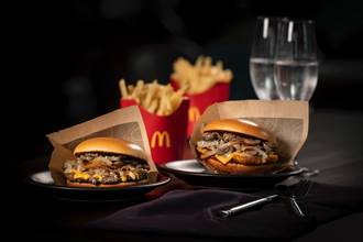 回購率85% 麥當勞「松露蕈菇安格斯黑牛堡」限期回歸