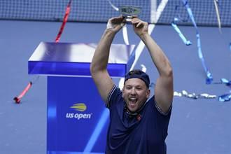 美網》輪椅網球兩選手超威 達成年度金滿貫