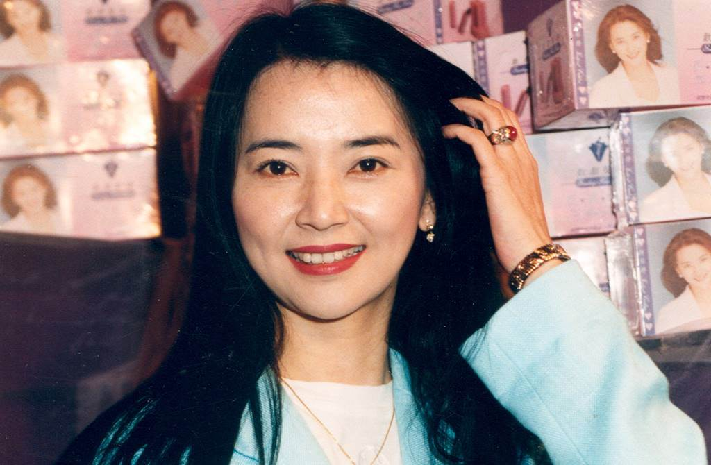 胡慧中昔和林青霞、胡因夢、周丹薇並列台灣四大美女。(圖/本報系資料照)