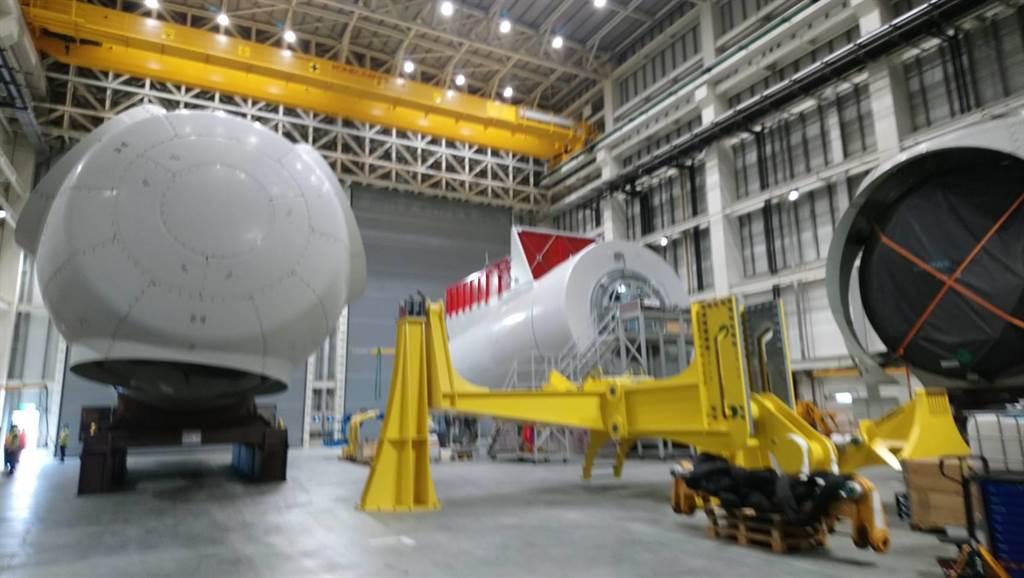 西門子歌美颯台中組裝場開幕 首顆風機心臟-機艙亮相
