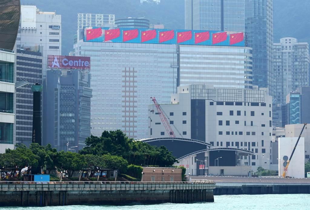 位於香港灣仔的中國恒大中心。