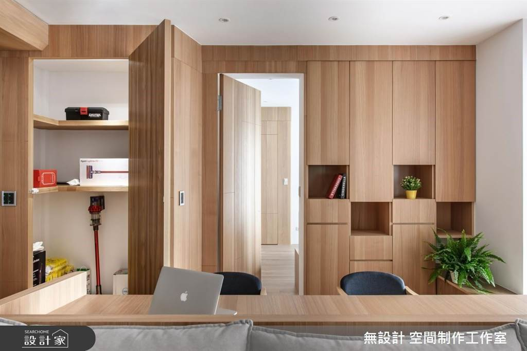 室內裝潢前必看!5大不做會後悔的設計,居家生活更便利(圖/無設計 空間制作工作室)