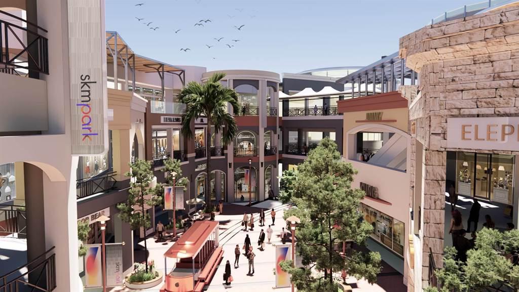 新光三越旗下全新打造的首間國際級生活複合式Lifestyle Outlets購物中心「SKM Park」,明年1月中下旬開幕。(新光三越提供)