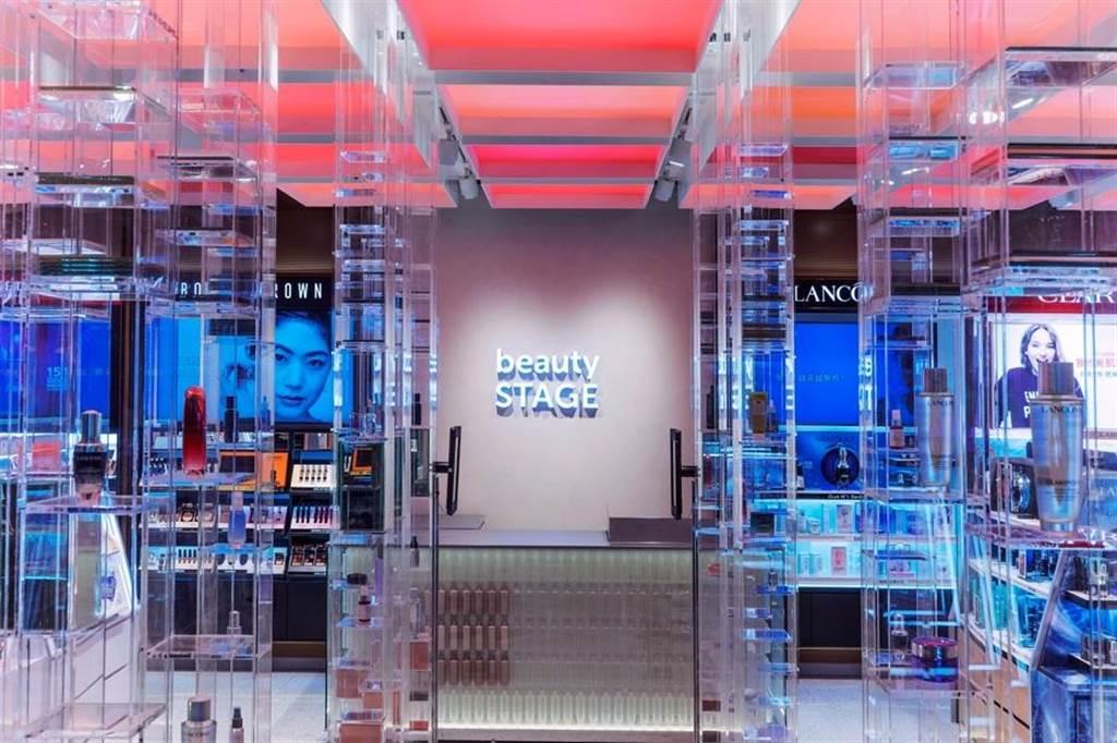 .beauty STAGE美麗台實體店首度跨出新光三越體系,10月初進駐環球新北中和。(新光三越提供)