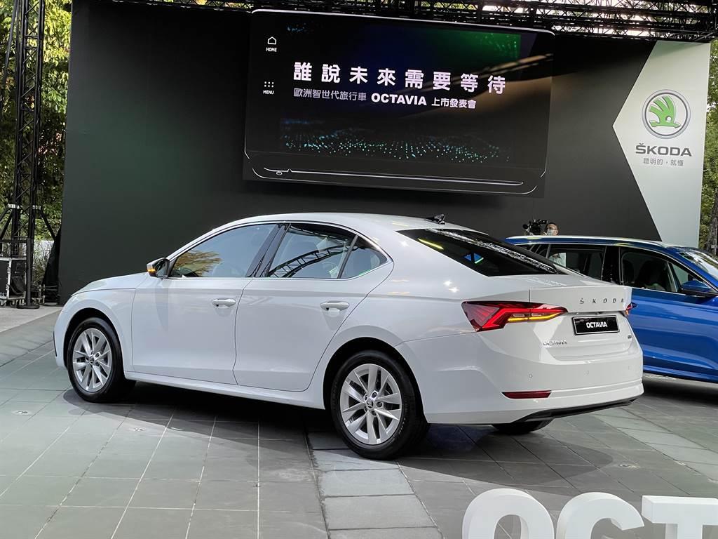 第四代OCTAVIA提供多種動力選擇,並首度加入48V輕油電科技。(圖/陳彥文攝)