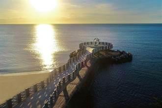 海上最美伸展台  芝蘭海上觀景平台華麗現身