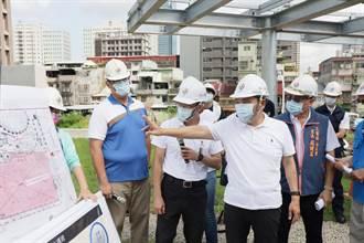 三重興穀國小舊校舍整建第一期完工 市長侯友宜前往視察