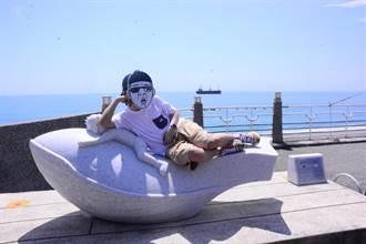 花蓮市與蔚山廣域市締盟40年 「鯨探號」藝術裝置今亮相