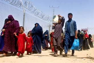 密密麻麻都是人 數千阿富汗難民死命逃難衛星畫面曝光