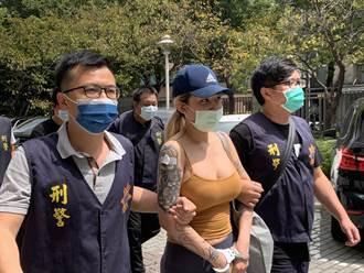 25歲豪乳網紅販毒遭逮 警認:想讓人多看一眼