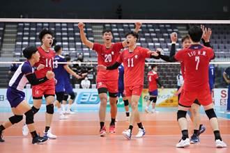 男排亞錦賽》贏韓國! 中華預賽3連勝出線
