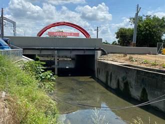 台鐵局納地方意見改善區域淹水 第一民雄橋竣工通過盧碧測試