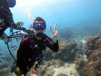 大陸人在台灣》第一次潛水在台灣