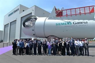蒲公英計畫完成 首座離岸風機機艙組裝台中啟用