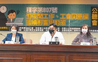 限制女性夜間工作違憲 勞動部3個月內提修法規畫