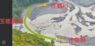 高雄明霸克露橋便道遭淹沒 最快9月20日搶通