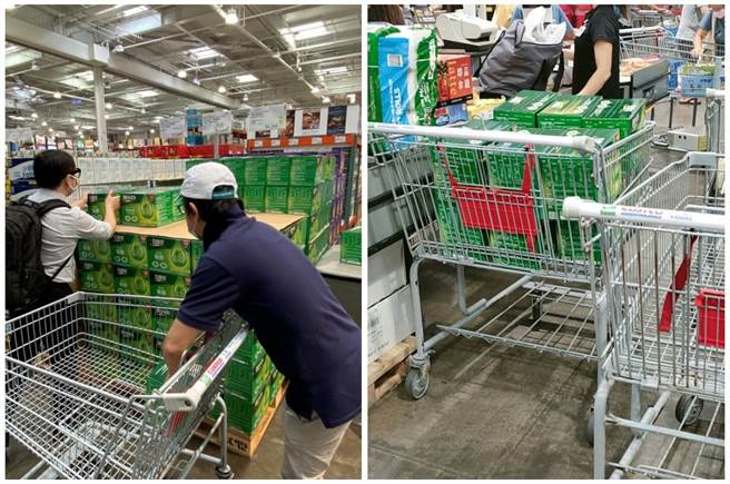 適逢好市多促銷期間,白蘭氏鷄精推出特價方案,吸引民眾搶購。(圖/網友分享)