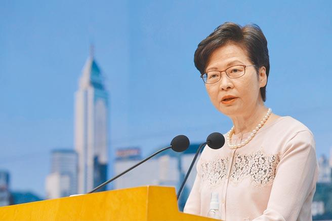 林鄭月娥12日稱,港府須為香港開創前景、增加土地、興建房屋,但以目前港府架構,處理如此繁重的工作未必理想。圖為林鄭月娥資料照片。(中新社)