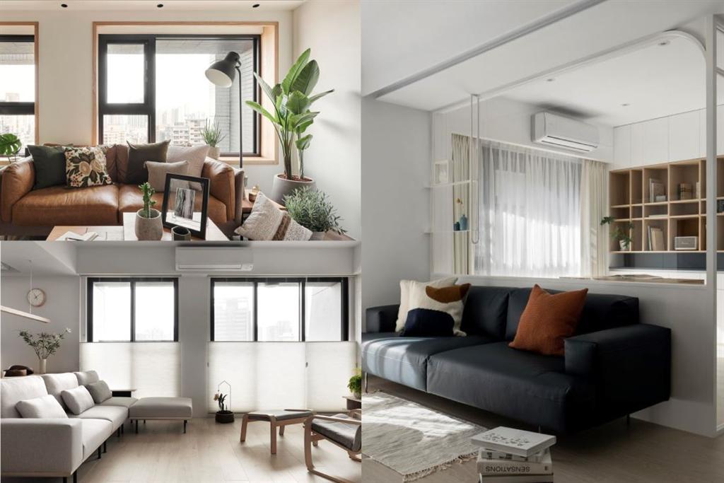室內也能清爽一夏!5招空間涼感設計,體感視覺一起吃冰淇淋(圖/設計家)
