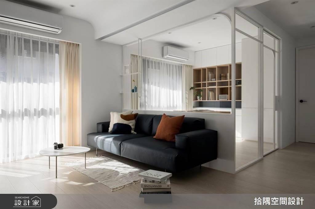室內也能清爽一夏!5招空間涼感設計,體感視覺一起吃冰淇淋(圖/拾隅空間設計)