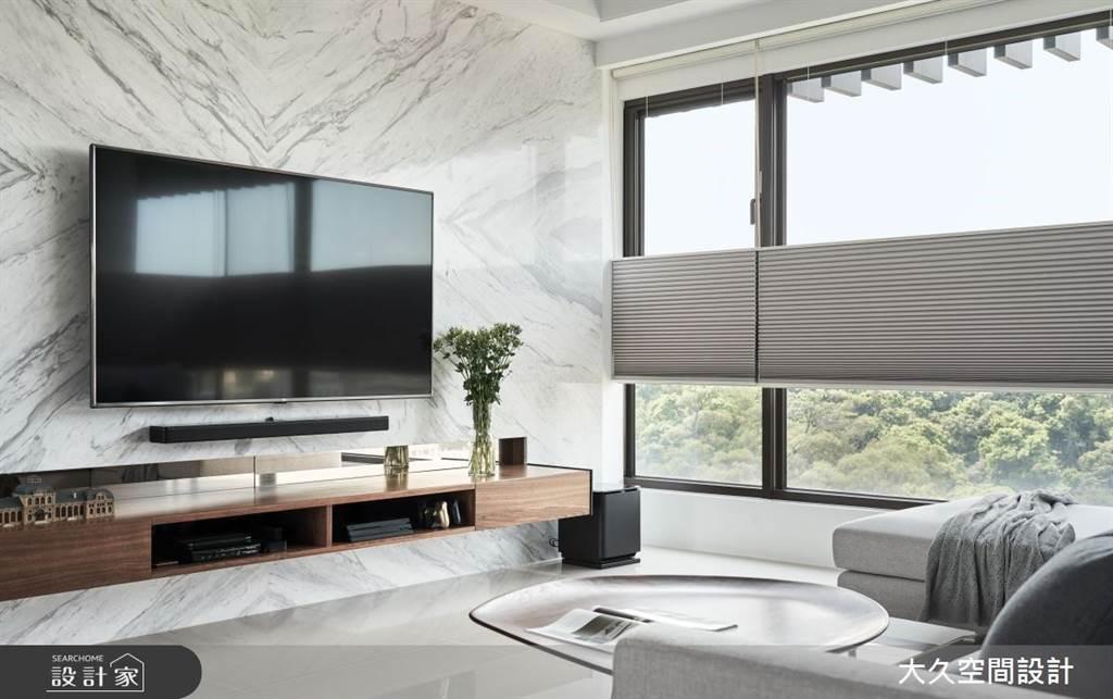 室內也能清爽一夏!5招空間涼感設計,體感視覺一起吃冰淇淋(圖/大久空間設計有限公司)