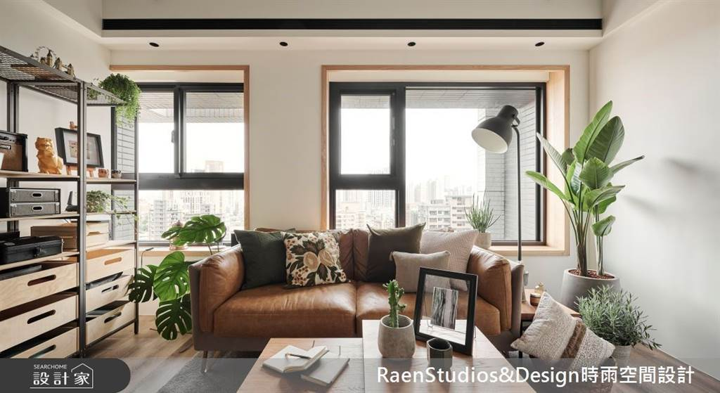 室內也能清爽一夏!5招空間涼感設計,體感視覺一起吃冰淇淋(圖/時雨空間設計)