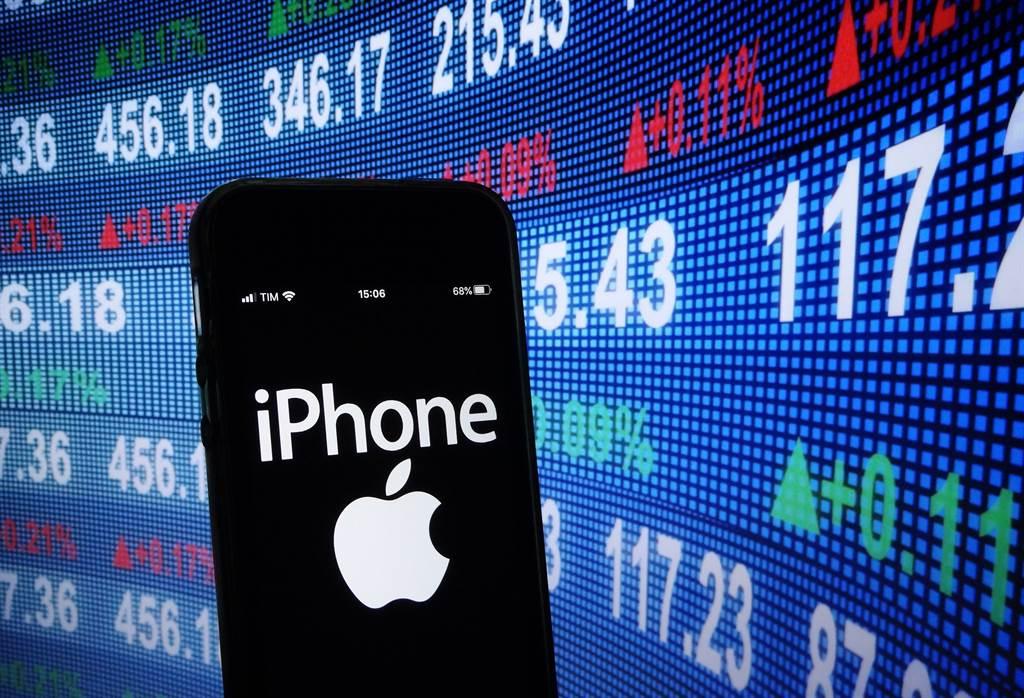 蘋果發表會上未提及低軌衛星通訊功能,Globalstar股價暴跌逾20%。(示意圖/達志影像/Shutterstock)
