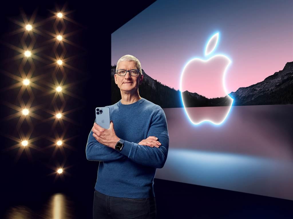 蘋果新機發表會。(圖/路透社)