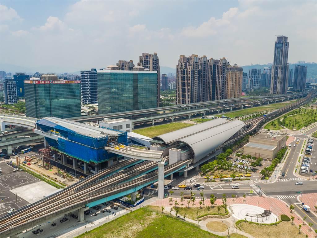 逃離台北市高房價,許多民眾選擇搬到重劃區、建設多、房價相對便宜的新北市。(圖/鄉林提供)