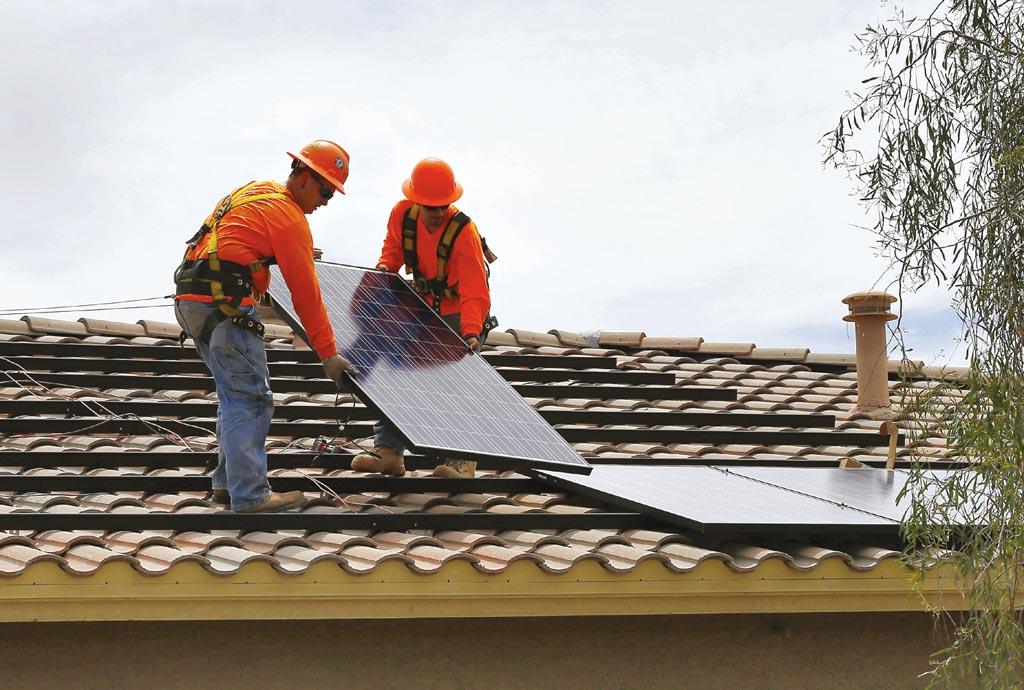 美Q2太陽能安裝 年增45% 全年可創新高