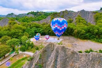 美呆了!高市搶攻觀光財 月世界、愛河熱氣球試飛成功