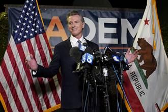 加州州長罷免案投票 民調:逾57%選民盼紐松留任