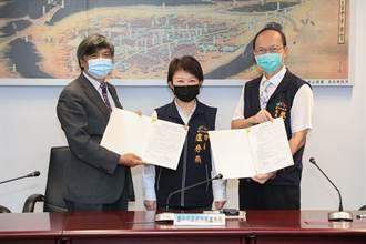 盧秀燕簽MOU 政治大學允諾來台中開課