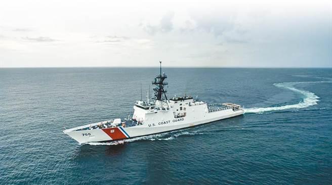 美國傳奇級海巡艦「穆洛號」將部署在西太平洋數月,旨在支援負責監督該區軍事行動的美國印太司令部,未來與我方將會有密切合作。(摘自美國海岸防衛隊海巡艦穆洛號臉書)
