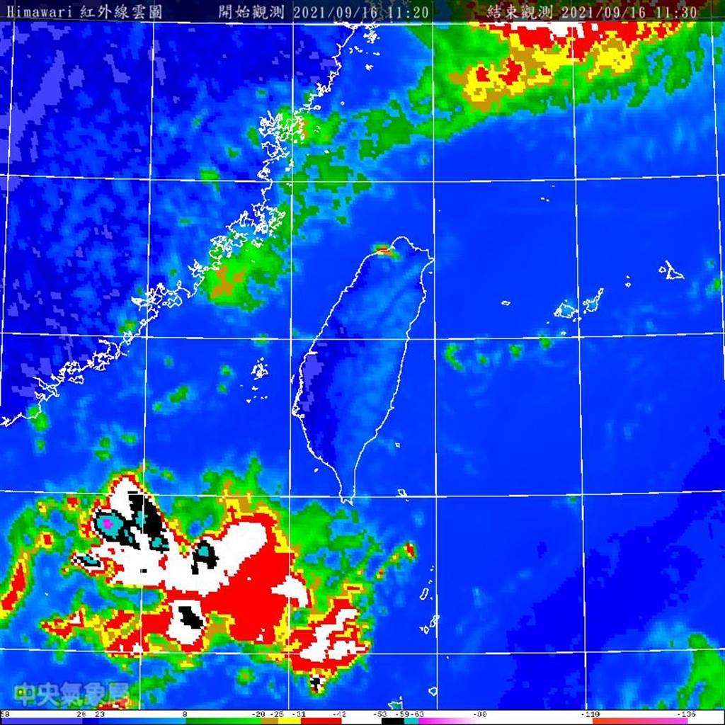 下周到本月底南海和菲律賓東邊海面都很適合熱帶系統發展,不排除有颱風生成。(圖/翻攝自氣象局)
