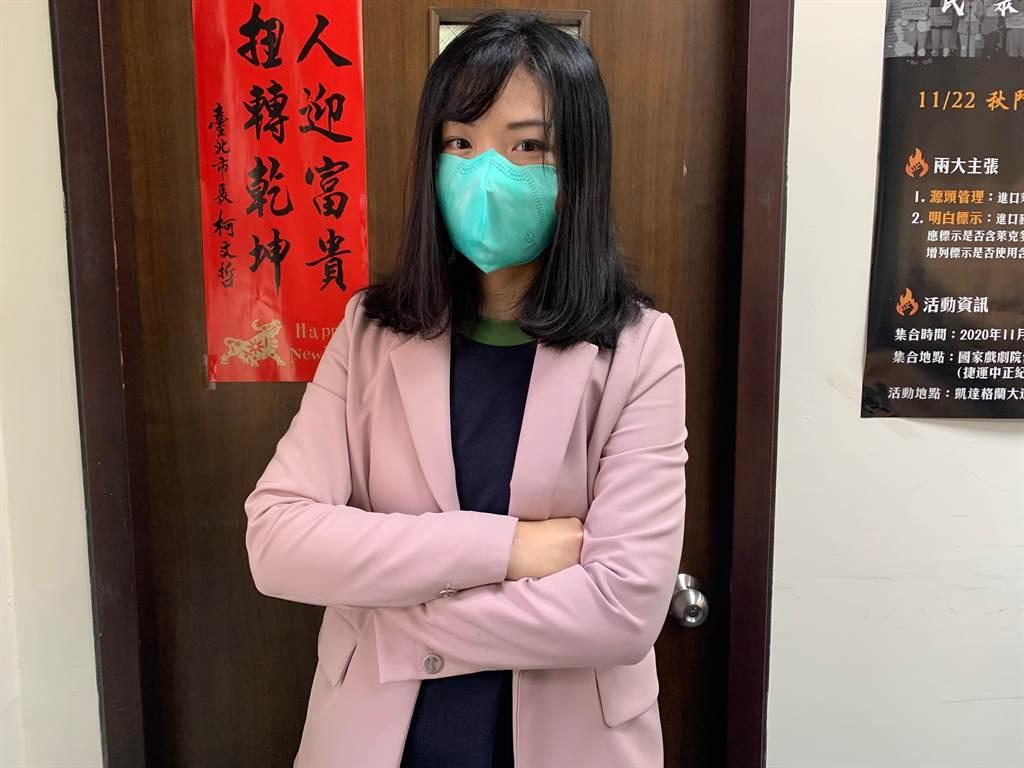 民眾黨立委高虹安。(報系資料照)