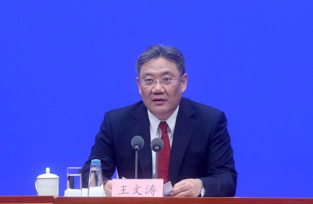 大陸商務部部長王文濤(摘自中新社)