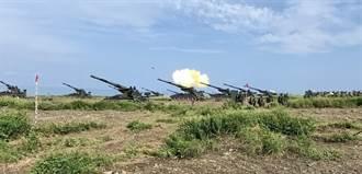 漢光演習「天雷操演」枋山滿豐陣地登場 重砲射擊場面壯觀