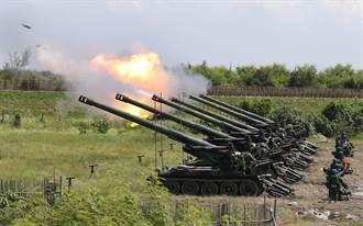 漢光反登陸作戰演習登場 自走砲射擊108發超震撼