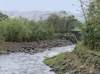 金山西勢溪護岸改善完工 成功抵禦璨樹颱風