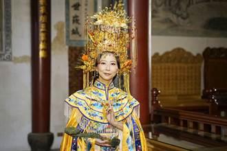 符合廣電法不算置入?陳亭妃新台灣奇案「演媽祖」扮相曝光