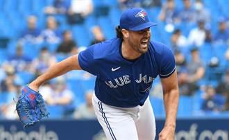 MLB》上季數據險墊底 藍鳥強投三振數壓寇爾拚賽揚獎