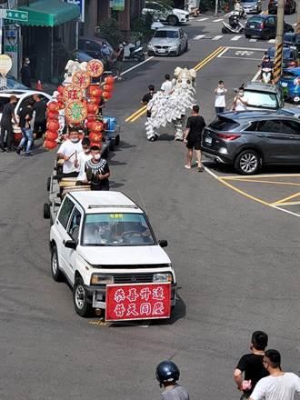 徐國勇赴竹東分局 指示將分局長「被歡送」一案查個水落石出