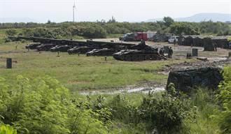 漢光37號演習 台中番仔寮陣地反登陸作戰砲聲隆隆
