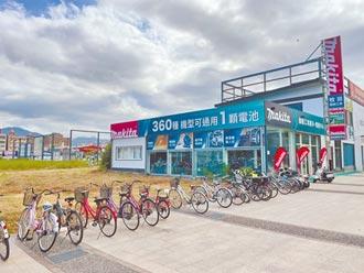 羅東鎮公所 新闢自行車停車場