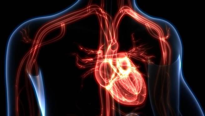 心臟病發者其實很「安靜」!延伸型胸痛加上大量冷汗,務必就醫。(示意圖/Shutterstock)
