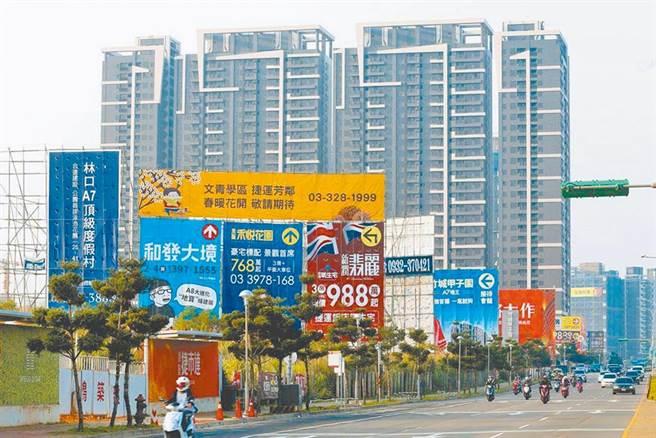 近年台灣房價居高不下。(示意圖/報系資料照)