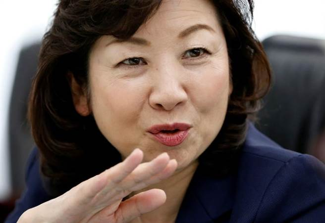 自民黨幹事長代行野田聖子表態參選該黨總裁。(圖/路透社)