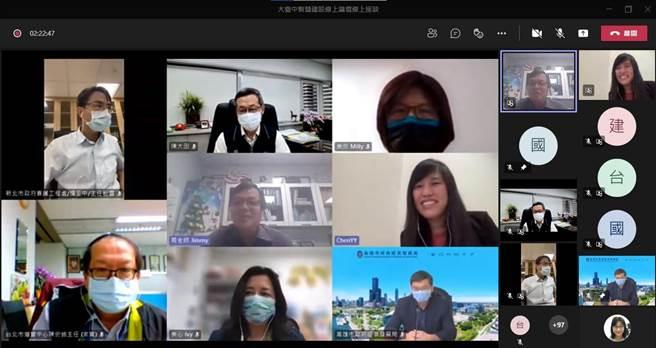 YouTube直播人數最多達424人同時上線聽講,盼為公共政策創造新一頁的里程碑。(台中市政府提供)